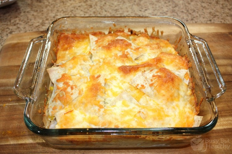 Thumbnail image for Chicken Enchilada Casserole