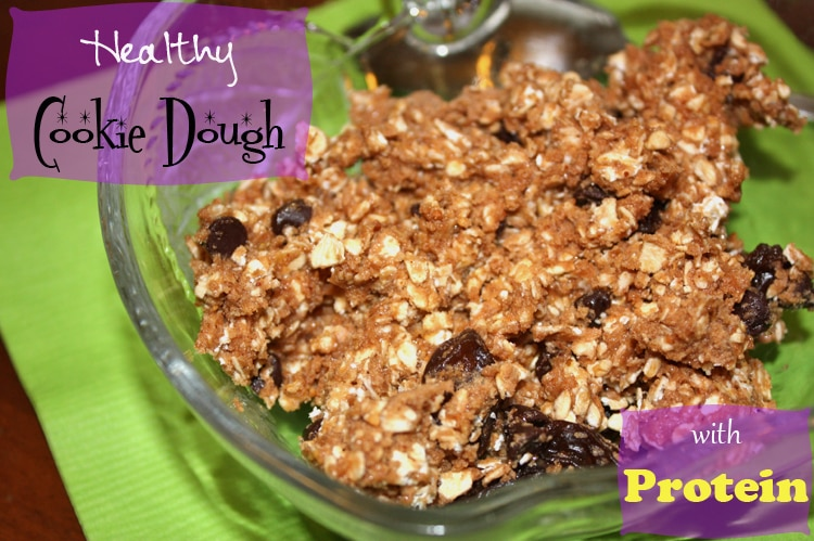 Thumbnail image for Healthy Cookie Dough Snack With Protein