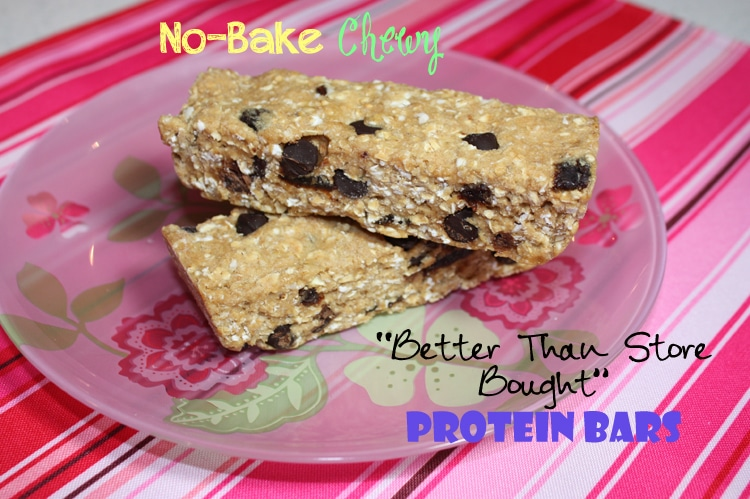 "no bake chewy ""better than store bought"" protein bars store bought protein bars - BusyButHealthy.com"