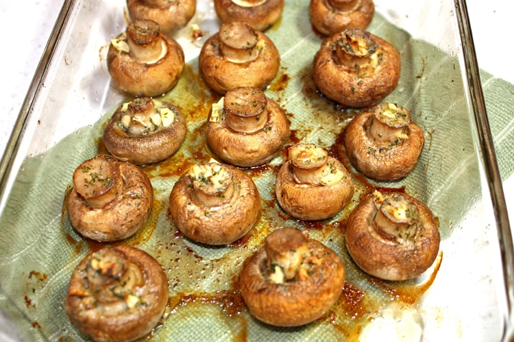 Roasted Garlic and Butter Mushrooms_2