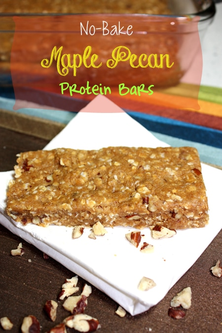 Thumbnail image for No-Bake Maple Pecan Protein Bars