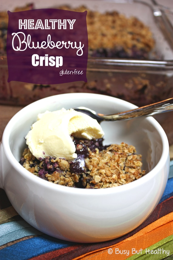 Thumbnail image for Healthy Blueberry Crisp