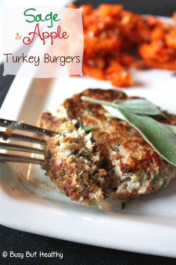 Thumbnail image for Sage and Apple Turkey Burgers