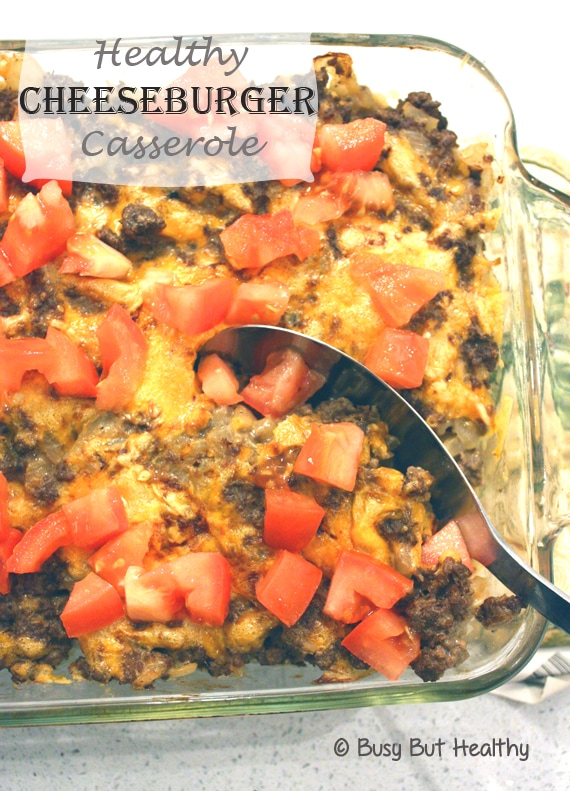 Thumbnail image for Healthy Cheeseburger Casserole
