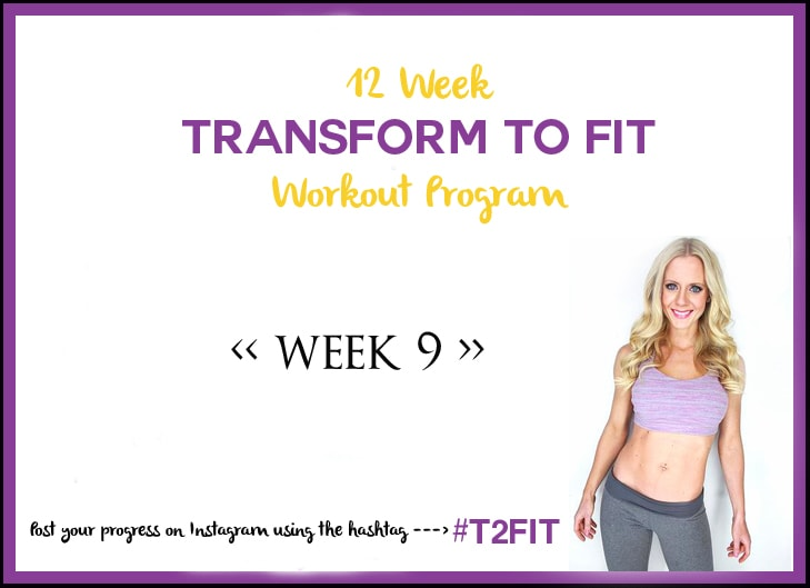 Thumbnail image for 12 Week Transform To Fit Workout Program – Week 9