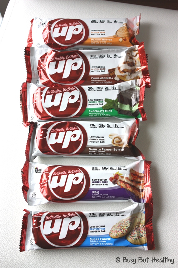 Thumbnail image for B-Up Protein Bars Review