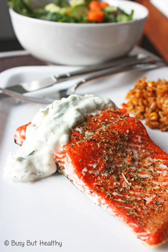 Thumbnail image for Salmon with Lemon Dill Sauce