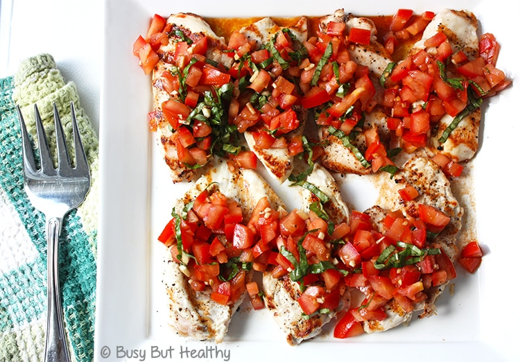 Thumbnail image for Grilled Chicken Breast Bruschetta