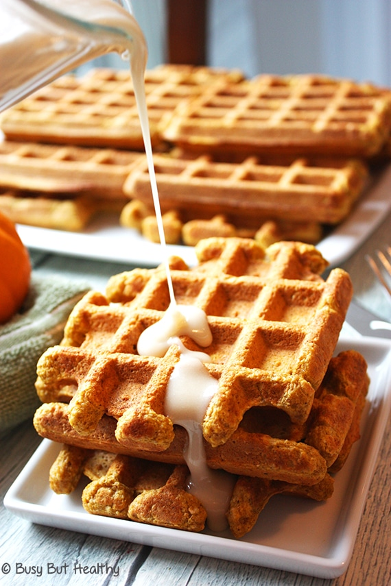 Thumbnail image for Pumpkin Spice Whey Protein Waffles